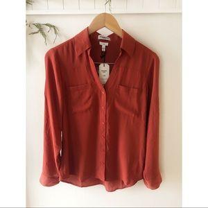 Express Convertible Sleeve Portofino Shirt